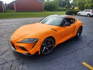 vehicle wrap - Toyota Supra